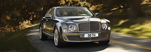 Bentley Mulsanne in Tungsten, Los Angeles