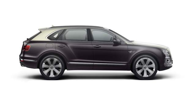 Two tone coloured Bentley Bentayga Mulliner custom built SUV | Bentley Motors