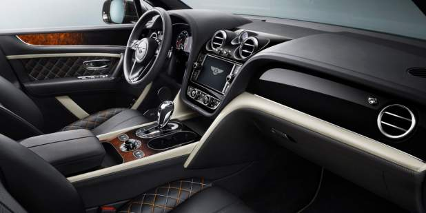Front car interior design of the Bentley Bentayga Mulliner | Bentley Motors