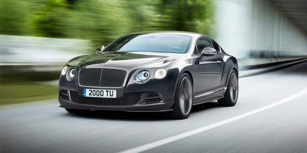 Continental GT Speed in Anthracite