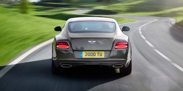 Continental GT Speed, rear view