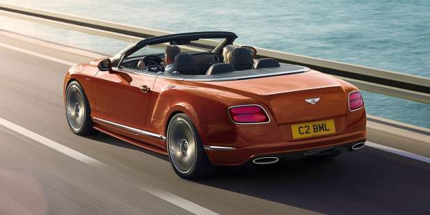 Bentley Continental GT Speed Convertible, performance