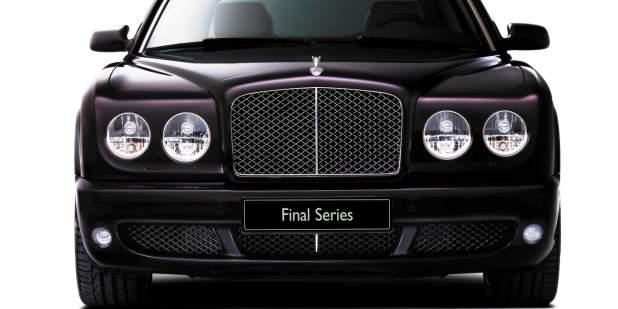 Front exterior of a Bentley Arnage Final Series | Bentley Motors