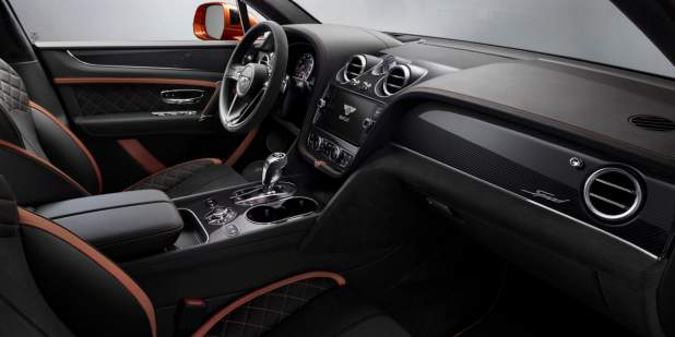 bentayga-speed-front-interior