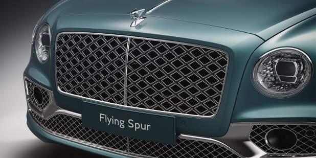 bentley-flying-spur-mulliner-windsor-blue-front-double-diamond-front-grille