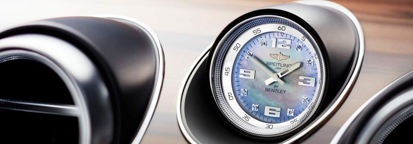 Bentayga Diesel Breitling Clock