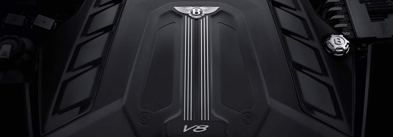 Bentley-Bentayga-V8-engine-manifold-with-V8-badging