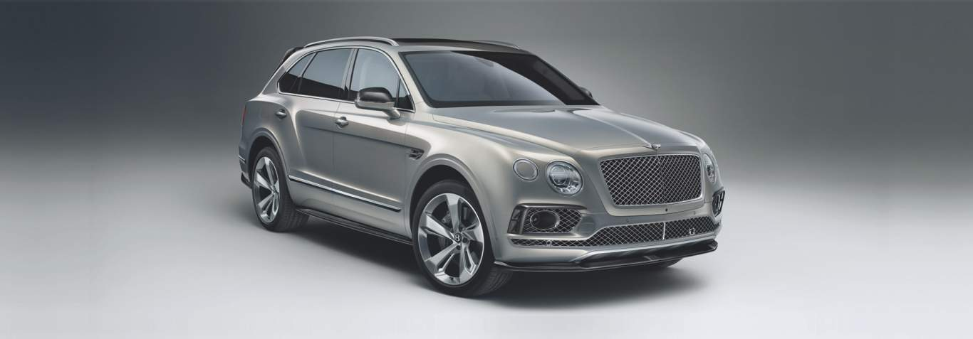 Bentley Bentayga with Styling Specification Accessories