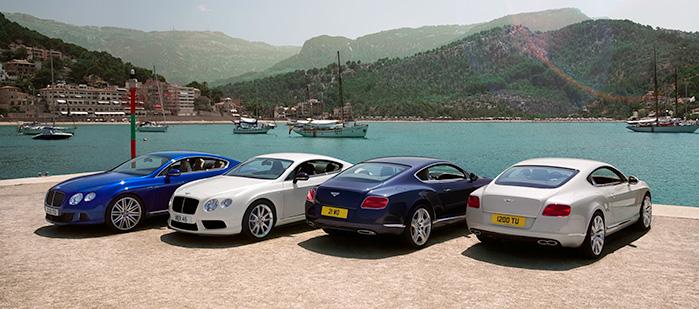 Continental Range (2010 - 2018) | Bentley Motors