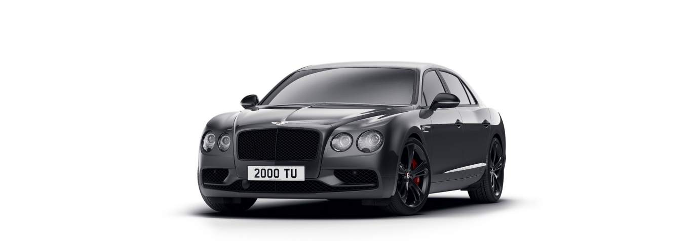 An Intriguing Darker Take On The V8 S Bentley Flying Spur