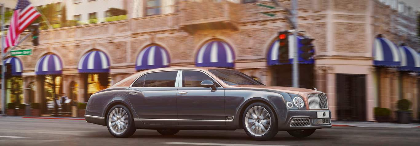 bentley mulsanne.