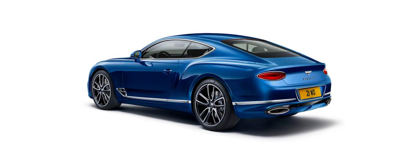 Bentley continental gt length