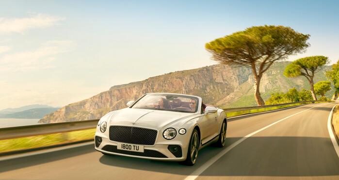 New Continental Range | Bentley Motors