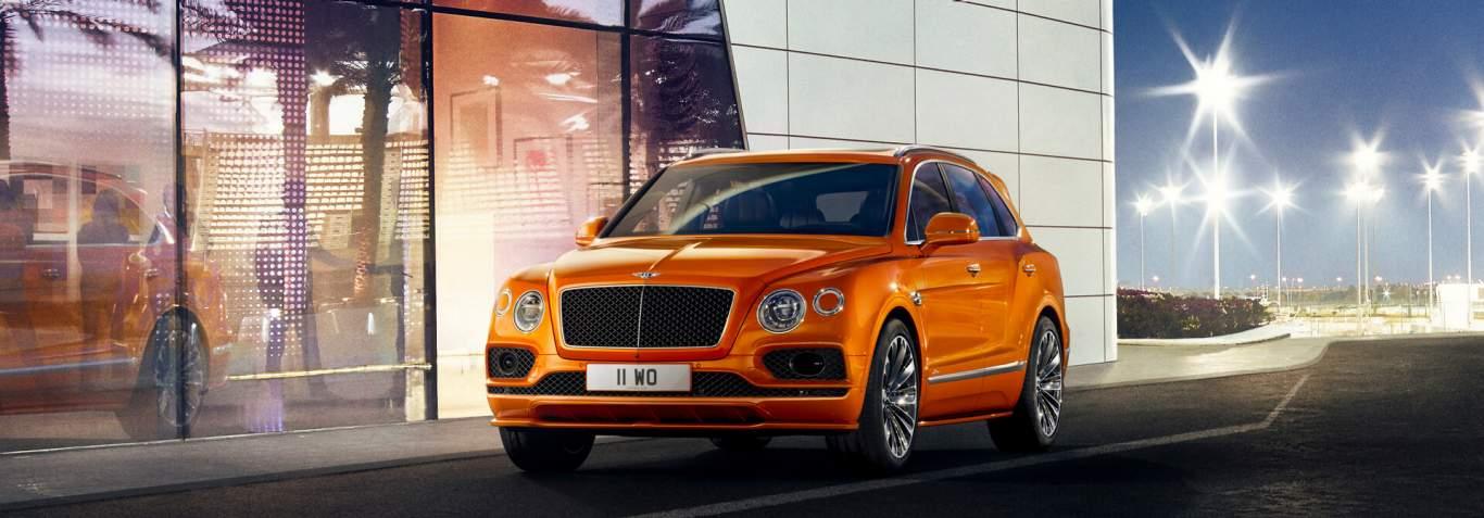 Bentley Motors Website: Models: Bentayga: Bentayga