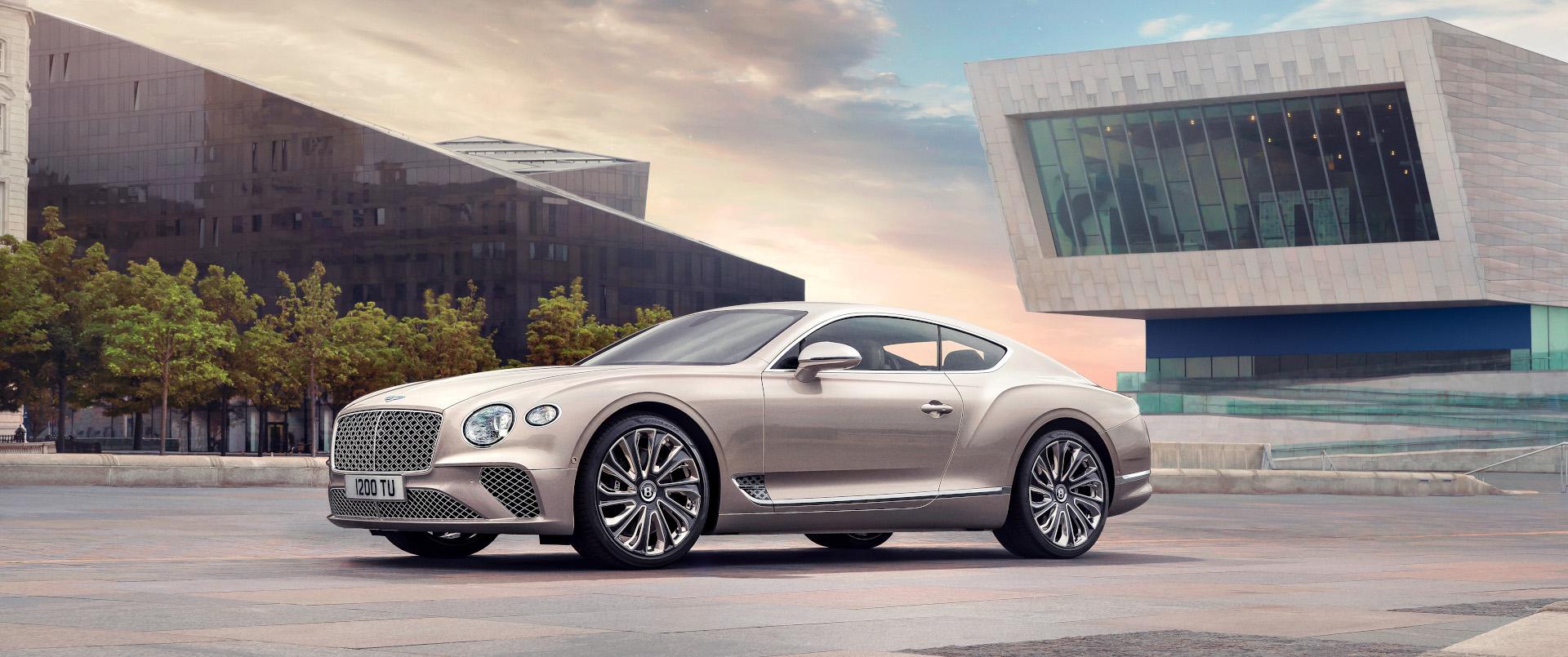 The Bentley Continental Gt Bentley Motors