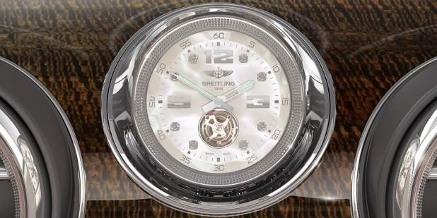 Image result for Bentley's bespoke mechanical clock