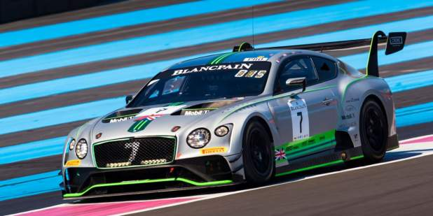 1449 Continental Gt3 On Track At Paulricard 2018 1398x699 Jpg