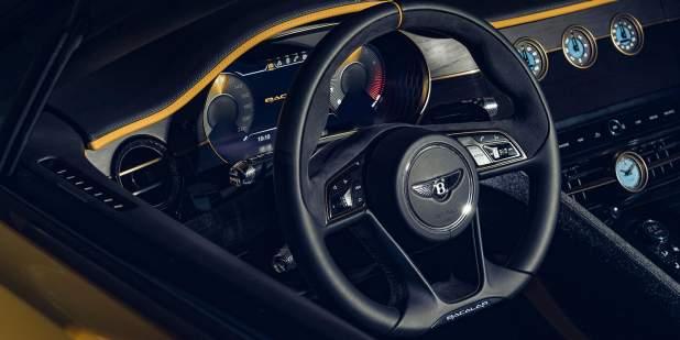 Bentley-Mulliner-Bacalar-steering-wheel-and-dash