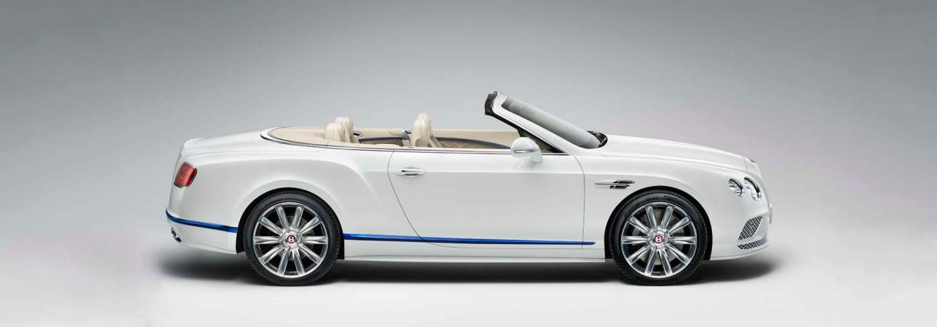 A Vision In White The Continental Gt V8 Convertible