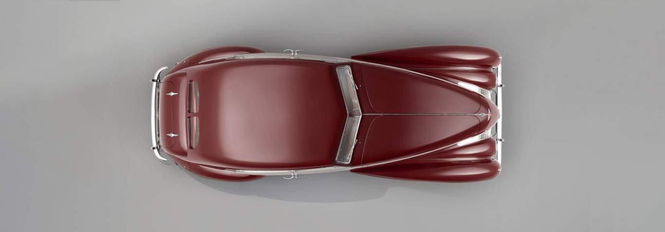 Bentley-Corniche-overhead-view