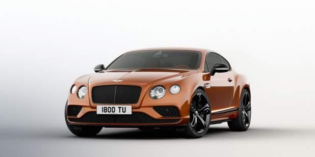 Orange Bentley Continental Gt Sd Black Edition Featuring Exterior Blackware Motors