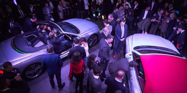 Munich launch overhead view of continental gt convertibles with guests 1398x699.jpg