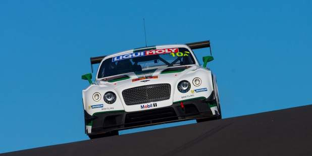 Bentley Continental GT3-R at Bathurst 12 Hour, February 2015