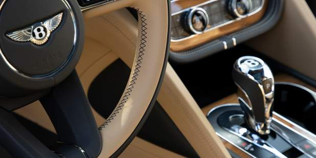 Bentley Motors and Bryson DeChambeauPhoto by Ron Jenkins